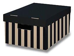 2 úložné krabice HIT Office s nosností 5 kg