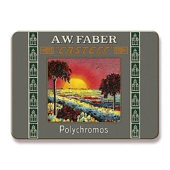 Obrázek produktu Pastelky Faber-Castell Polychromos 111 Years - plechová krabička, 12 barev, krátké