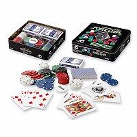 FULL HOUSE - sada na poker vč žetonů, karet