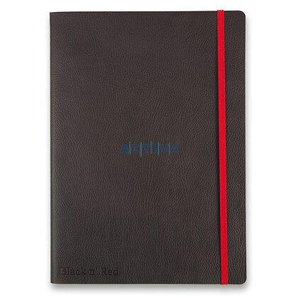 Obrázok produktu Oxford Black and Red Business Journal - zápisník - B5, linajkový, 72 listov