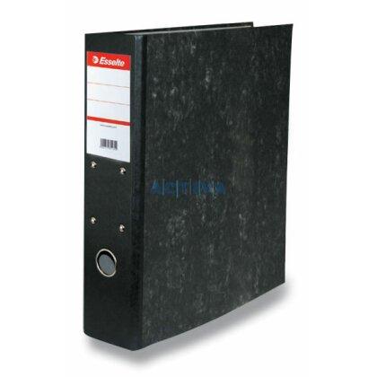 Obrázek produktu Esselte Mramor - papírový závěsný pořadač - A4, 70 mm, černý