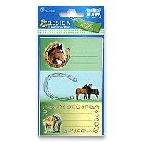 Samolepicí štítky na sešity - Koně