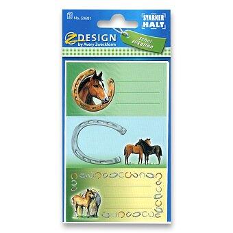 Obrázek produktu Samolepicí štítky na sešity - Koně