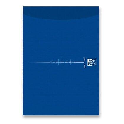 Obrázok produktu Oxford Smart Black - blok A4 - čistý,  modré dosky, 50 listov