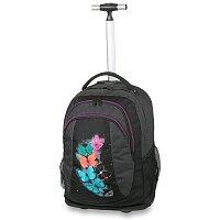 Školní batoh s kolečky Walker Spin Butterfly