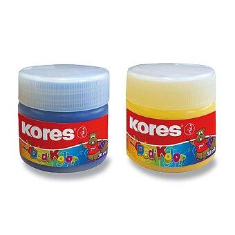 Obrázek produktu Prstové barvy Kores Dedi Kolor - 7 barev, 30 ml