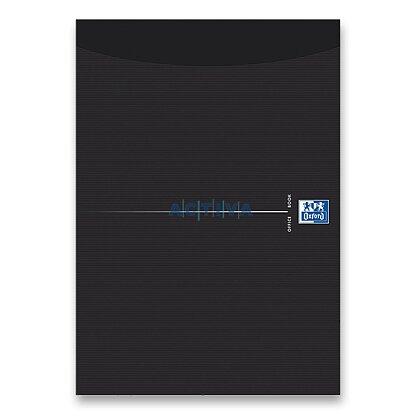 Obrázok produktu Oxford Smart Black - blok A4 - linajkový, čierne dosky, 50 listov,