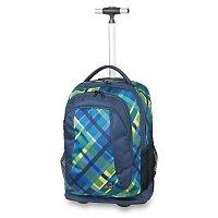 Školní batoh s kolečky Walker Spin Checker