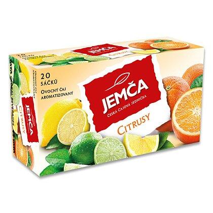 Obrázek produktu Jemča - ovocný čaj - Citrusy, 20 ks