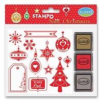 Vánoční razítka AladinE Stampo Christmas