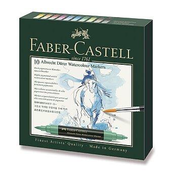 Obrázek produktu Akvarelové popisovače Faber-Castell Albrecht Dürer - 10 barev