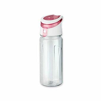 Obrázek produktu FITNER - plastová sportovní láhev, 500 ml, výběr barev - transp. modrá