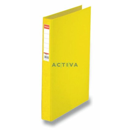Obrázek produktu Esselte Rainbow - 2kroužkový pořadač - A4, 40 mm, žlutý