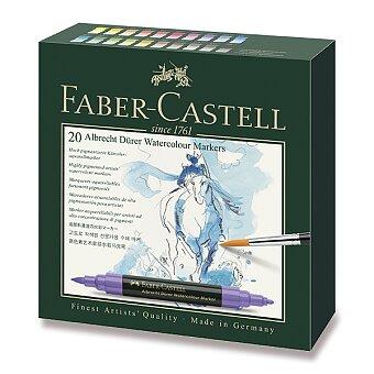 Obrázek produktu Akvarelové popisovače Faber-Castell Albrecht Dürer - 20 barev