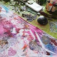 Šátek pro milovník přírody