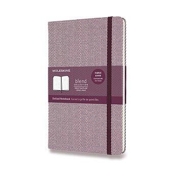 Obrázek produktu Zápisník Moleskine Blend 20 - tvrdé desky - L, tečkovaný, vínový
