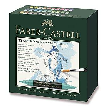 Obrázek produktu Akvarelové popisovače Faber-Castell Albrecht Dürer - 30 barev