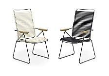 Polohovatelná židle s područkami Houe Click Position Chair