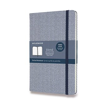 Obrázek produktu Zápisník Moleskine Blend 20 - tvrdé desky - L, tečkovaný, modrý