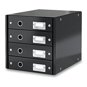 Obrázek produktu Zásuvkový box Leitz Click & Store - 4 zásuvky, černý