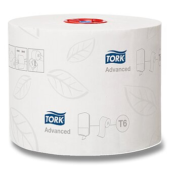 Obrázek produktu Toaletní papír Tork Mild Size - 2 - vrstvý, návin 100 m, průměr 13,2 cm