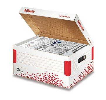 Obrázek produktu Archivační kontejner  Speedbox Esselte  s víkem - velikost A4