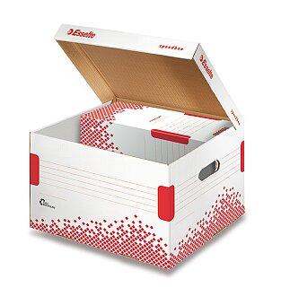 Obrázek produktu Archivační kontejner  Speedbox Esselte  s víkem - 267 x 263 x 325 mm, velikost M