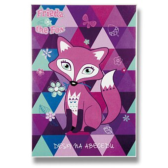 Obrázek produktu Desky na abecedu Frieda the Fox