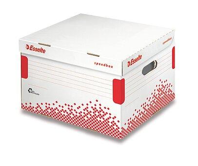 Obrázek produktu Archivační kontejner  Speedbox Esselte  s víkem - 433 x 263 x 364 mm, velikost L