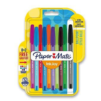 Obrázek produktu Kuličková tužka PaperMate InkJoy 100 - sada 10 barev