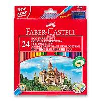 Pastelky Faber-Castell s ořezávátkem