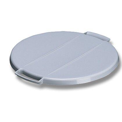 Obrázek produktu Durable - víko ke koši - šedé, kulaté
