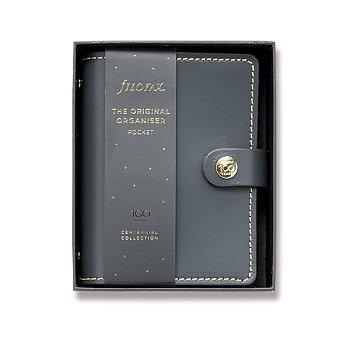 Obrázek produktu Kapesní diář Filofax The Original Centennial A7 - Charcoal