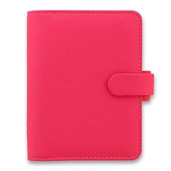 Obrázek produktu Kapesní diář Filofax Saffiano fluoro A7 - růžový