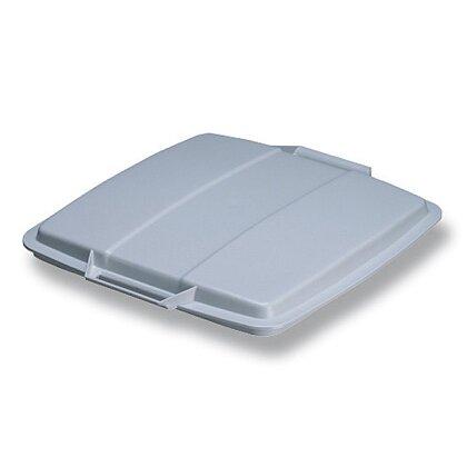 Obrázek produktu Durable - víko ke koši na odpad - šedé