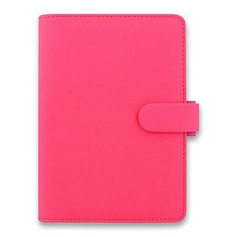 Obrázek produktu Osobní diář Filofax Saffiano A6 - růžový