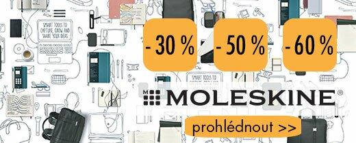 Moleskine výprodej 2019