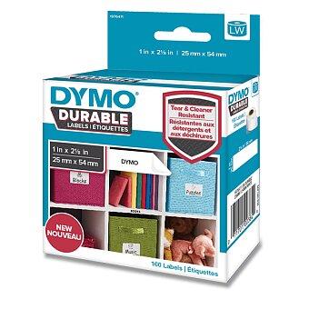 Obrázek produktu Velmi odolná páska Dymo - 54 x 25 mm, 160 ks