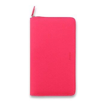 Obrázek produktu Osobní diář Filofax Saffiano Compact Zip A6 - růžový