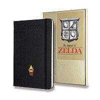 Zápisník Moleskine The Legend of Zelda - tvrdé desky