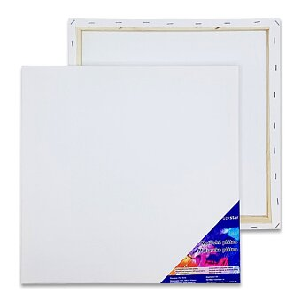 Obrázek produktu Malířské plátno v dřevěném rámu - 40 x 40 cm