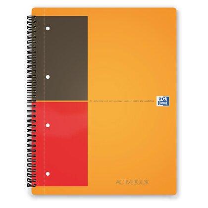 Obrázek produktu Oxford Activebook - kroužková záznamní kniha - A4+, 80 l., linkovaná