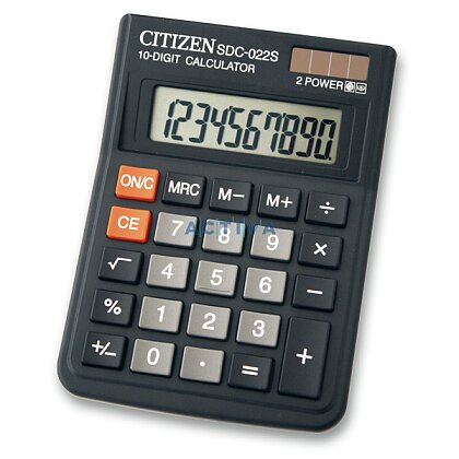 Product image Citizen SDC-022S - office calculator