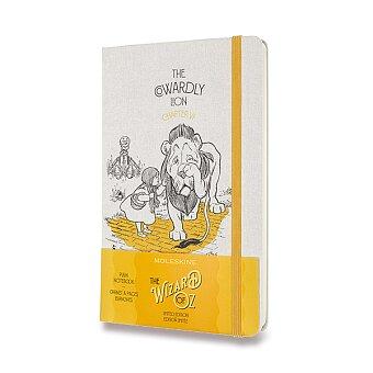 Obrázek produktu Zápisník Moleskine Wizard Of Oz  - tvrdé desky - L, čistý, žlutý