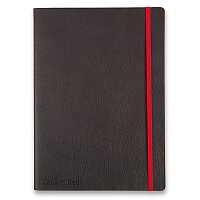 Zápisník Oxford Black n' Red Business Journal