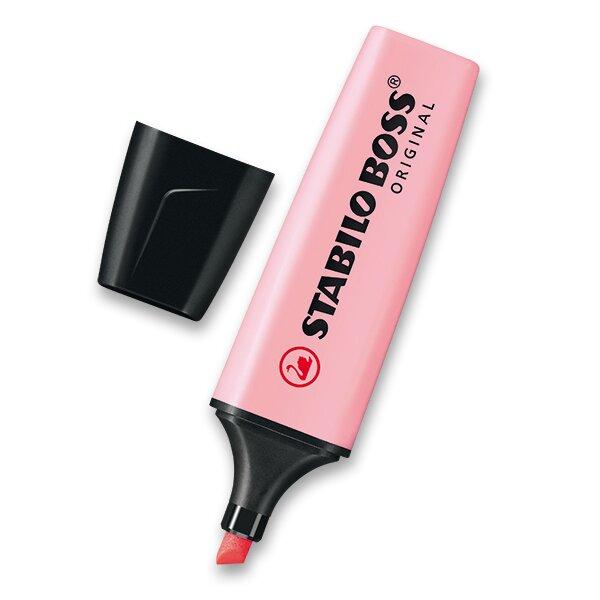 Zvýrazňovač Stabilo Boss Original Pastel růžový
