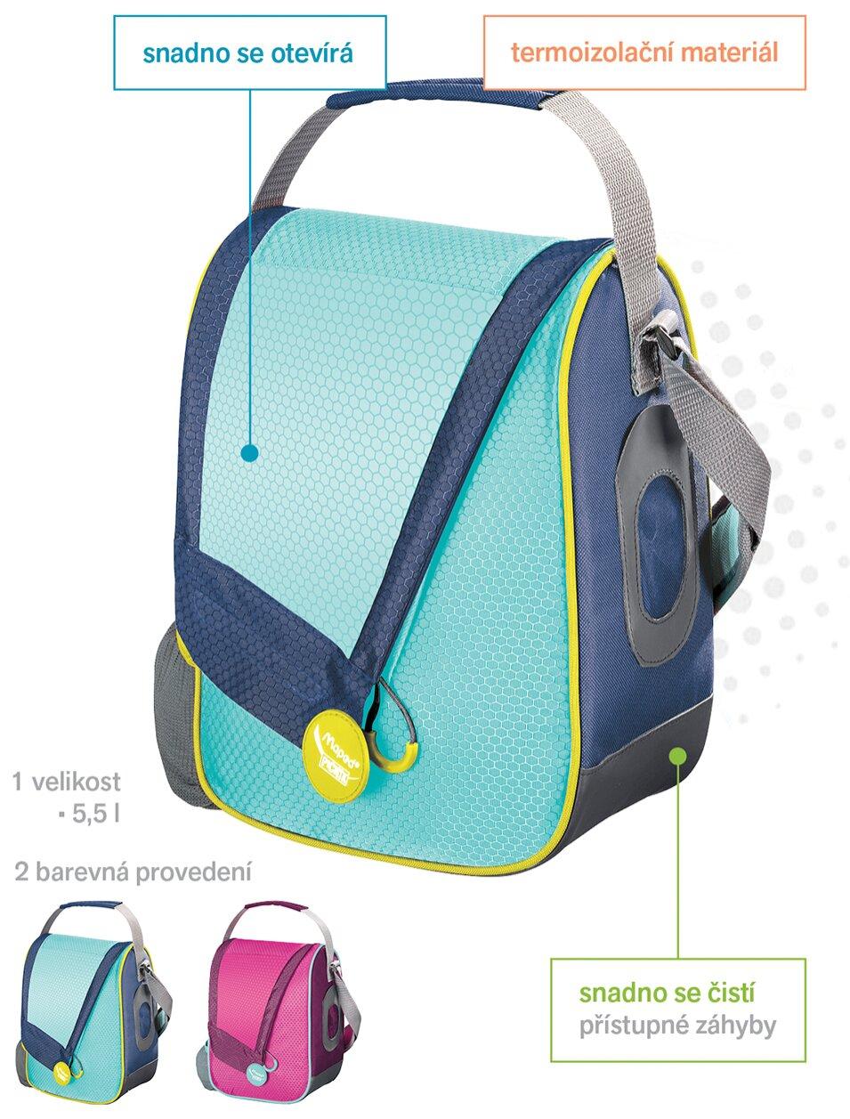 Výhody svačinové termo tašky Maped Picnik Concept
