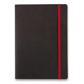 Obrázek produktu Zápisník Oxford Black n' Red Business Journal - A5, linkovaný, 72 listů