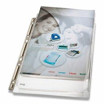 Obrázek produktu Závěsný obal Maxi s kovovou lištou Leitz - A4, až 200 listů, čirý, 3 ks