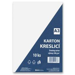 Obrázek produktu Kreslicí karton A3 - 180 g/m2, 10 archů